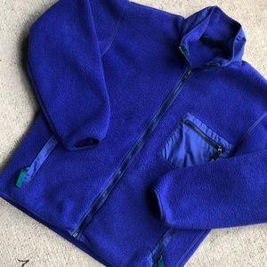 Patagonia Vintage Fleece Jacket Medium Purple